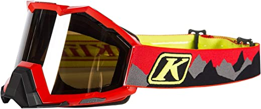 Klim Viper Snow Goggle Mountains Red 3902-000-000-002