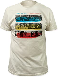 Impact Police Synchronicity Fitted Jersey tee Vintage-White