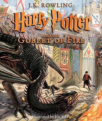 HARRY POTTER & GOBLET OF FIRE ILLUSTRATED HC ED: 4