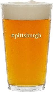 #pittsburgh - Glass Hashtag 16oz Beer Pint