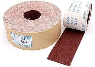 80-600 Grit JB-5 slipbälte smärgelduk rulle polering sandpapper för slipverktyg möbler metall polering bredd 90 mm, 320,5 ...