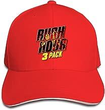 MARC Custom Rush Hour Trilogy Adult Fishing Headwear Red