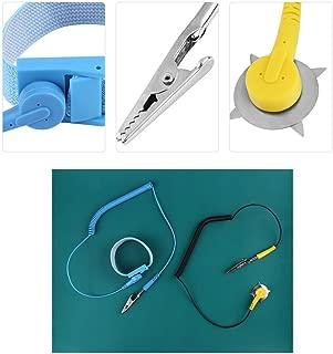 ESD Mat wrist Strap Kit,Electrostatic Silicone Mat+ Wrist Strap Belt+2Pcs Cable