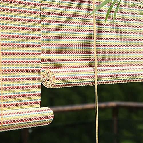 Persianas Exteriores Enrollables para Patio, Pérgola del Jardín Sombrilla de Privacidad Sombra de Pantalla, 80cm / 100cm / 120cm / 140 cm de Ancho (Size : W 120×H 190cm)