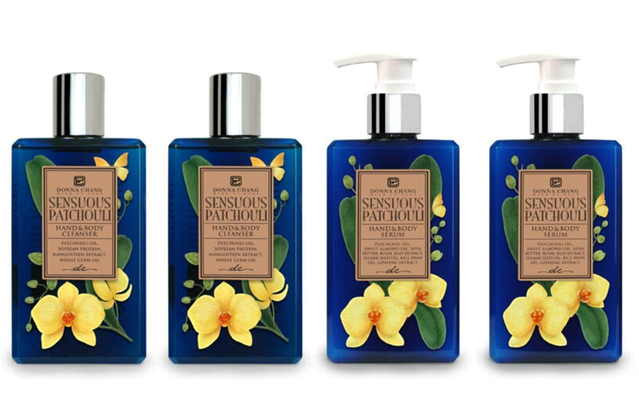 Donna Chang specialty shop Sensuous Gorgeous Patchouli Shower Gel Serum Set B Body and -