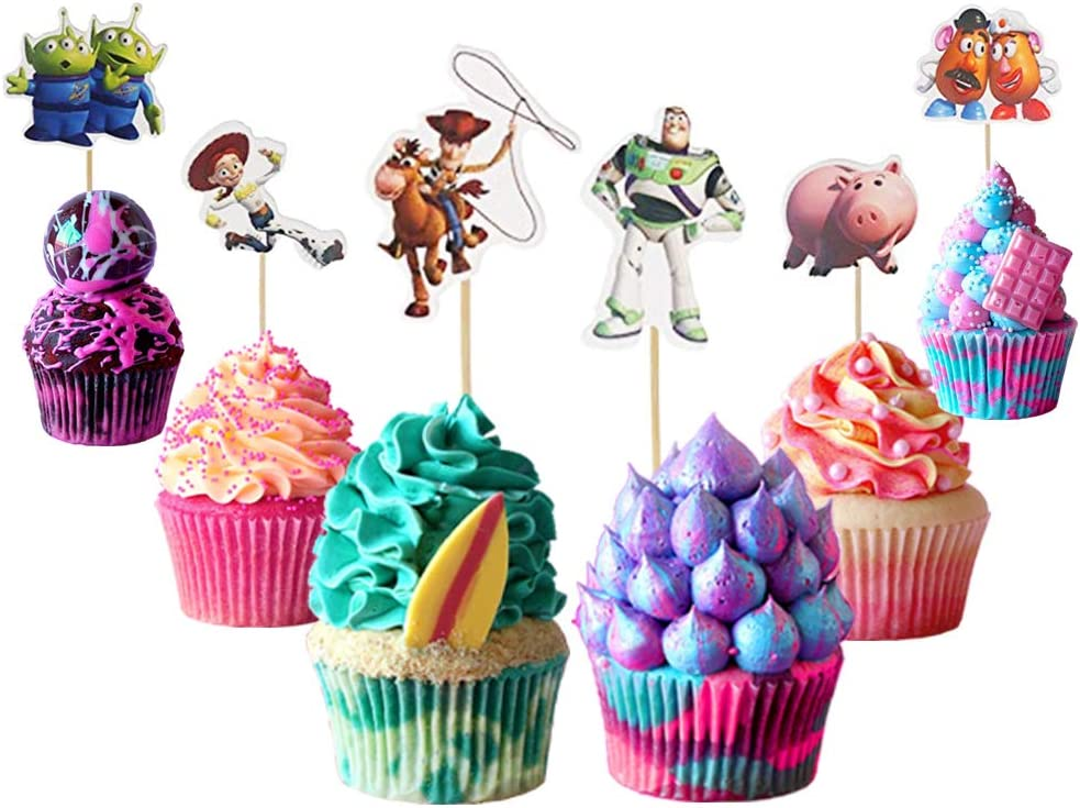 Toy Story Cupcake Toppers Branded goods 40% OFF Cheap Sale Cake 48PCS Stor