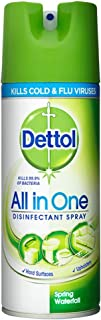 Dettol Disinfectant Spray Spring Waterfall, 400 ml