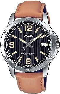 Casio Brown Leather Men Watch MTP-V004L-1B2UDF