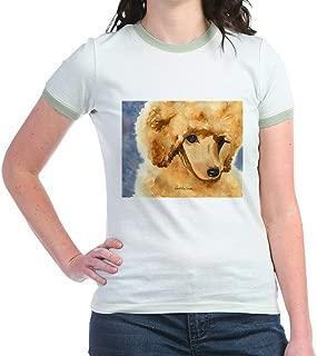 CafePress Red Poodle Stuff Jr. Ringer T Shirt Ringer T-Shirt