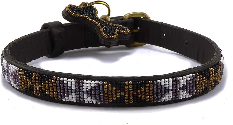 Bajuni Skinny Medium Dog Collar