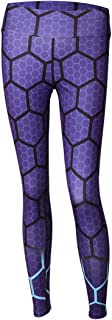 Honeycomb Printed Christmas Leggings Women High Waist Fitness Legging Push Up Jeggings Pants Women
