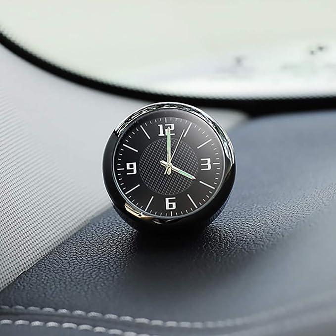 Dbscd Auto Uhr Auto Uhr Armaturenbrett Digitaluhr Zubehör Für Bmw Ford Focus Volkswagen Audi Peugeot Renault Mercedes Toyota Seat Küche Haushalt