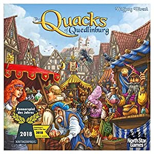INTERNATIONAL HIT GAME! Winner of the 2018 Kennerspiel des Jahres, considered one of the top awards in the world! ARE YOU A QUACK? - Your challenge is to make a special brew that will make you the best miracle doctor in the land! Be careful, one ingr...