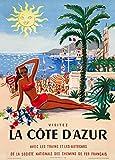 World of Art Vintage Travel La Côte d 'Azur in Frankreich