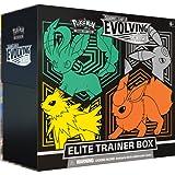 Pokémon USA, Inc. | Pokemon TCG: Spada & Shield 7 - Evolving Skies Elite Trainer Box | Gioco di carte | età 6+ | 2 giocatori | 20+ minuti di tempo di gioco