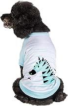 Blueberry Pet 9 Designs Soft & Comfy Cotton Blend Dog T Shirts