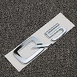 Bescalor para A3 A4 A5 A6 A7 A8 Q3 Q5 Q7 3.2 3.0T 2.0T 4.2 2.4 3.6 Tronco Trasero Emblema del Emblema Adhesivo de Insignia Sticker Desplazamiento de automóviles (Color Name : Q5)