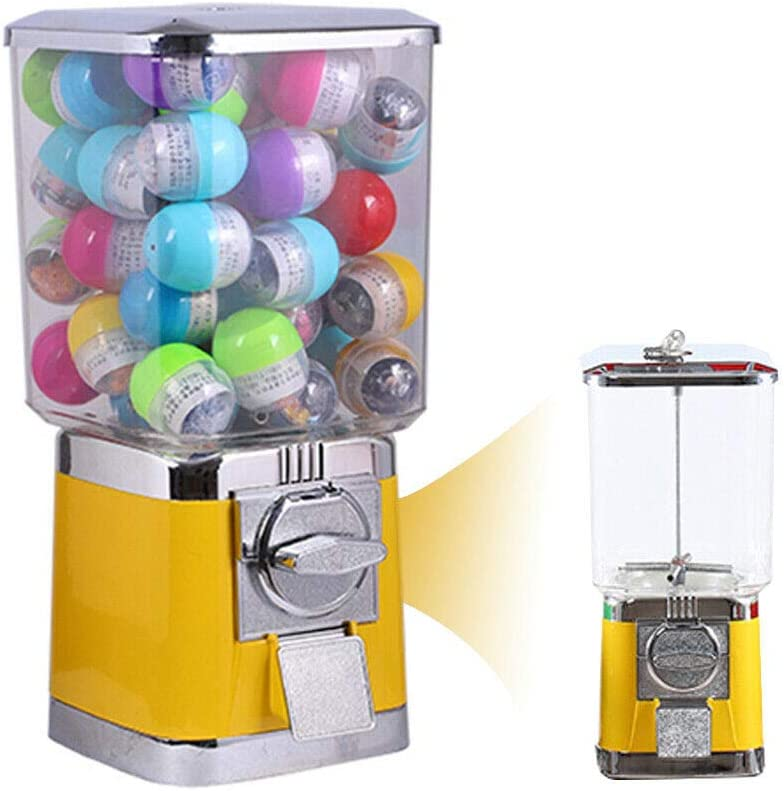 AnEssOil Gumball Candy Vending safety Machine Max 85% OFF Capsul Metal Durable Body