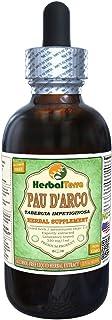 PAU d'arco (Tabebuia Impetiginosa) Glycerite, Dried Bark Alcohol-Free Liquid Extract 2 oz