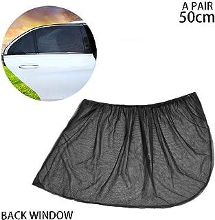1pair Universal bilfönster solskydd andas Mesh Bil bakre sidorutan Shade skyddar ditt barn från solen Fit för de flesta bi...
