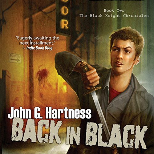 Back in Black audiobook cover art