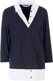 HELMIDGE Shirtblouse met kraag 2-in-1 stijl dames