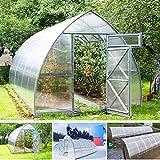 gazebiprofessionali.com Invernadero túnel de 3 x 2 m de policarbonato de 6 mm...
