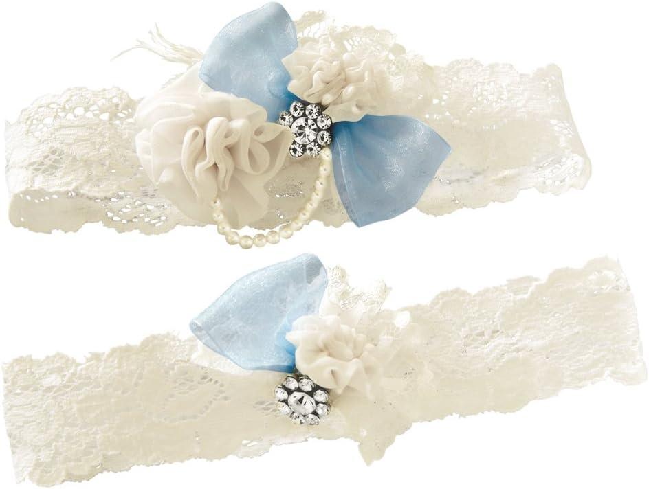 Ivy Lane Design Vintage Something Garter Wedding Set Max 48% OFF Blue Bridal Max 41% OFF