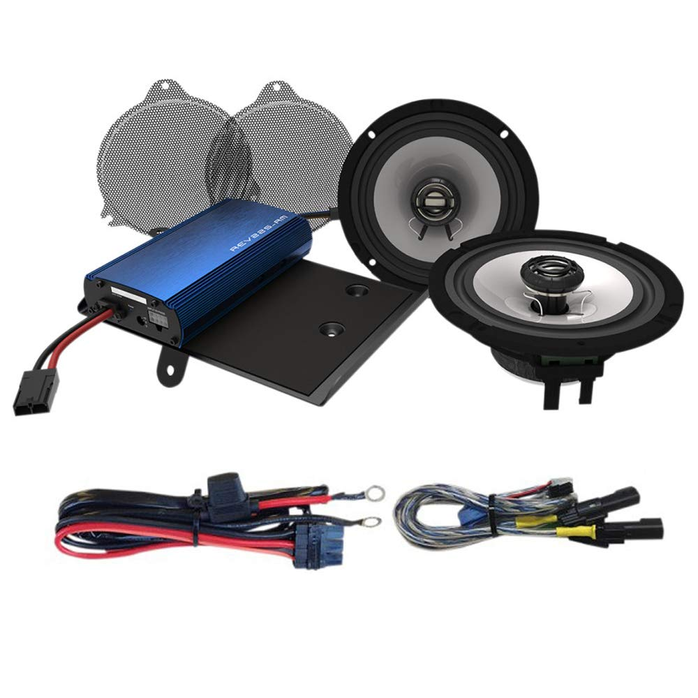 Harley Davidson amplifier wiring kit for PBR300x2 PBR300x4 Hogtunes J/&M and others