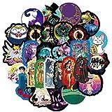 YMSD 50 unids Sailor Anime Pegatinas Luna Impermeable Maleta Etiqueta Marea Marca Viaje Maleta Monopatín Graffiti Sticker