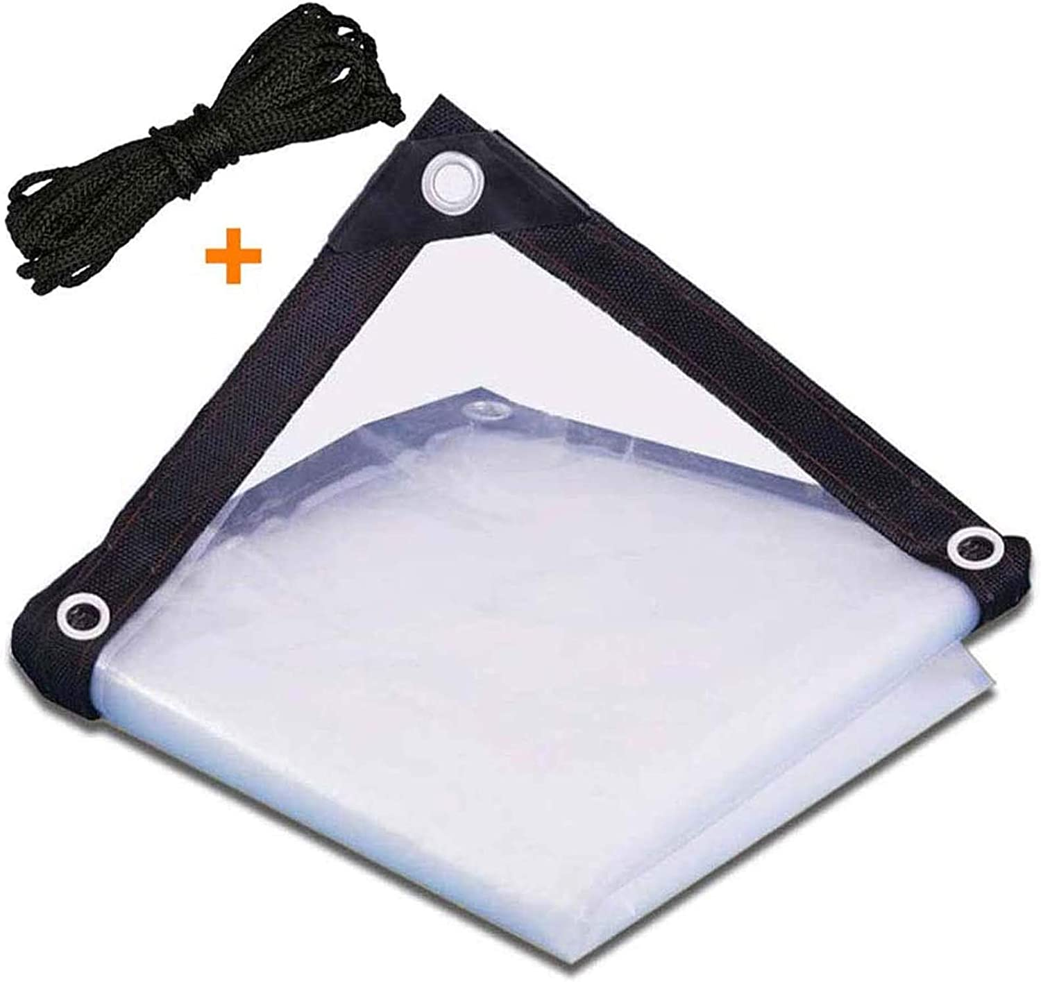 WZDD Clear Tarps Heavy Duty Indefinitely Cover Waterproof Water 3ftx3ft New Free Shipping Tarp