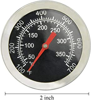 Grill Thermometer Temperature Gauge Replacement Parts for Chargriller 5050, 5650, Charbroil 463251414, 463250212, Temp Gauge Heat Indicator for Jenn-Air 720-0336, 720-0163, Perfect Flame and Others.