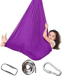 Topchances Indoor Therapy Swing voor kinderen, kind en tieners, zachte hangmat schommel met speciale behoeften voor kinder...