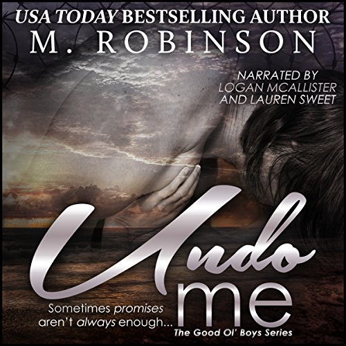 Undo Me audiobook cover art