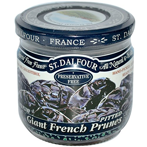 St. Dalfour Giant French Pitted Prunes -- 7 oz Each / Pack of 3