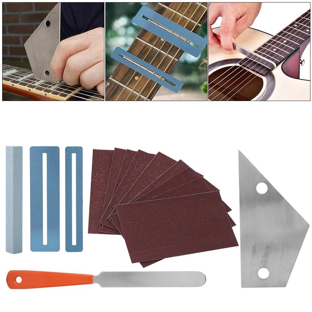 Kit de Herramientas de reparación de Guitarra con Archivo de ...