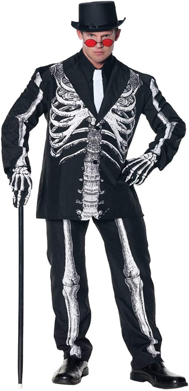 HorrorShop Baron Samedi Skeleton suit XL XL