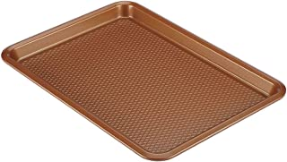 Lg Sheet Pan Nonstick Bake ware Constructed from Durable, High-Performance Steel Copper
