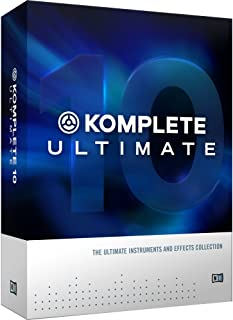 Native Instruments インストゥルメント/エフェクト・コレクション KOMPLETE 10 ULTIMATE UPG for K10
