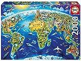 Educa Borrás - Símbolos del Mundo Puzzle, 2000 piezas (17129)