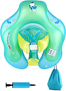 Nicewell Baby Floats for Pool, Safe Crotch Strap Inflatable Baby Swimming Float for Infant Toddlers, Suitable for The Age of 6-30 Months, Size Large