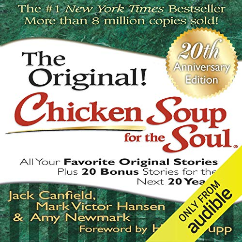 Page de couverture de Chicken Soup for the Soul 20th Anniversary Edition