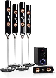 auna Areal Nobility Equipo 5.1 de Sonido Envolvente - Home Cinema, Equipo 5.1, 120 W de Potencia Media, Subwoofer de 35 W,...