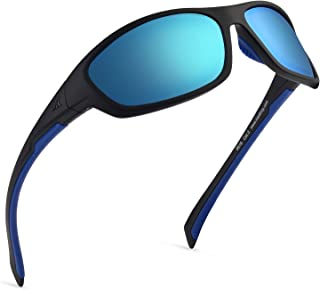 Hiwassee Polarized Sport Sunglasses for Men and Women, Ideal for Driving Fishing Cycling and...