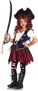 Leg Avenue Enchanted Caribbean Pirate Costume (2 Piece), Multicolor, Extra Small