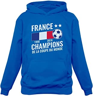 Green Turtle T-Shirts Football Enfant Souvenir de la Coupe du Monde 2018 Sweatshirt Capuche Enfant