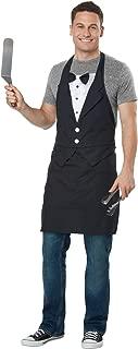 California Costumes Tuxedo Apron - Adult Costume Adult Costume, Black/White, One Size