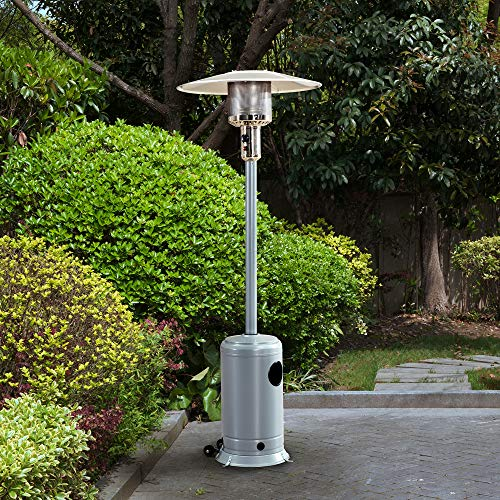 Sunjoy A306006403 Avanti Heater, Silver