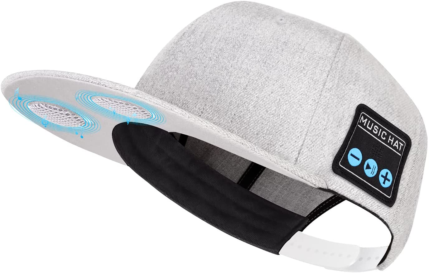 Hat with Bluetooth Speaker Adjustable Bluetooth Hat Wireless Smart Speakerphone Cap for Outdoor Sport Baseball Cap is The Perfect Gifts for Men/Women/Boys/Girls