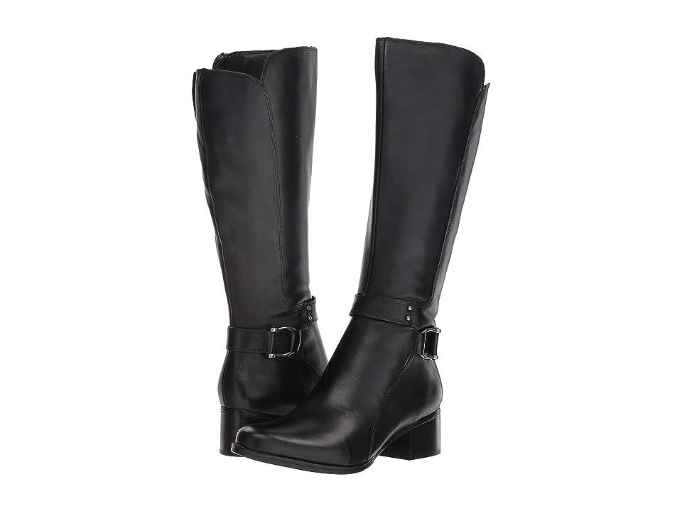 Naturalizer Dane (Black Leather) Women